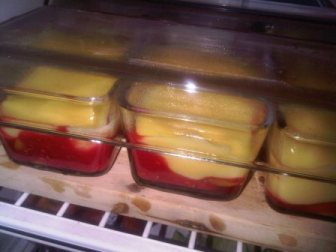 Cover the serving plates and keep in the fridge to chill... get them out only before serving time
