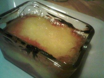 Any excess custard was burned!!! Making the plate look ugly! If you have a torch it would yeild better results... oh well